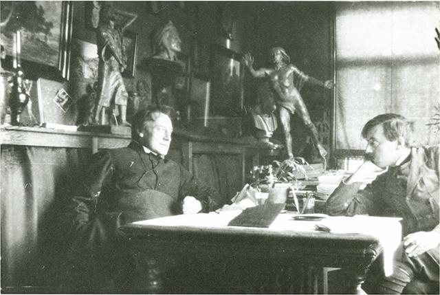 Verschaeve in gesprek met Georges Verschingel, 1914 [BE ADVN VFAL 230]