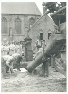 Verschaeves definitieve begrafenis te Alveringem, 3 augustus 1973 [BE ADVN VFAL 1082]